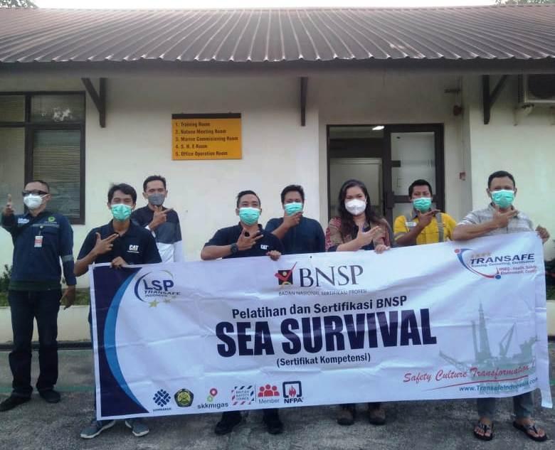 sea survival sertifikasi BNSP – LSP Transafe